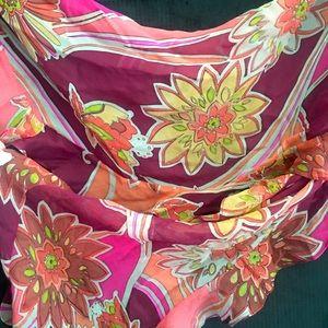 Women's silk gorgeous scarf .